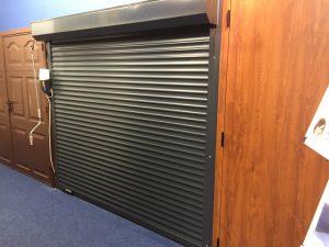 Watford showroom garage door