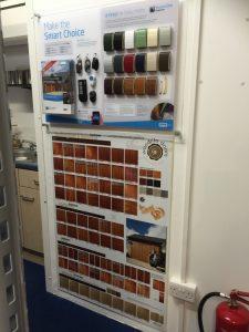 Watford showroom samples