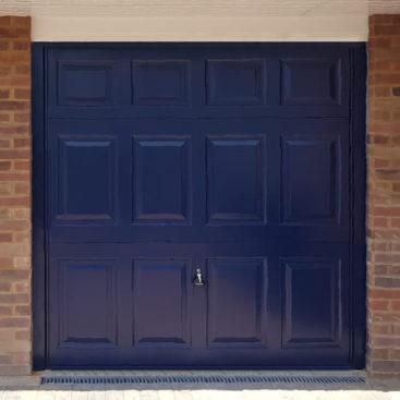 Garador Beaumont Garage Door in Steel Blue