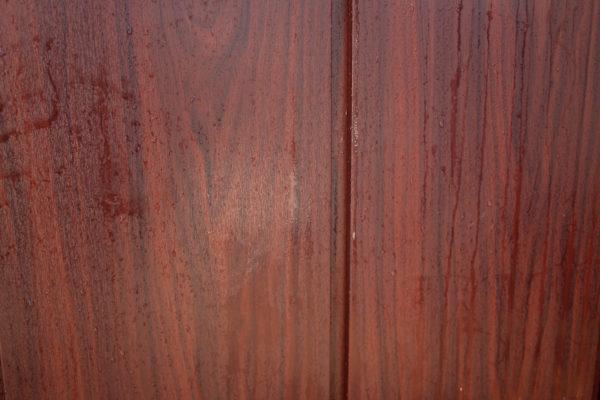 Hormann Vertical Decograin, Vertically Ribbed in Rosewood