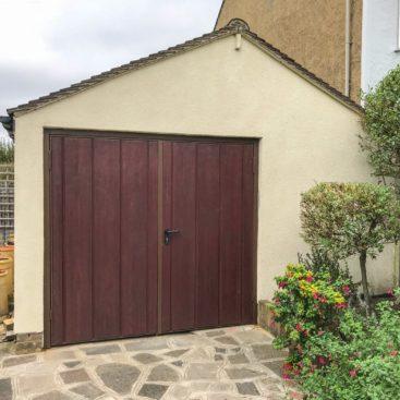 WessexRippon 50:50 Side Hinged Door in Rosewood