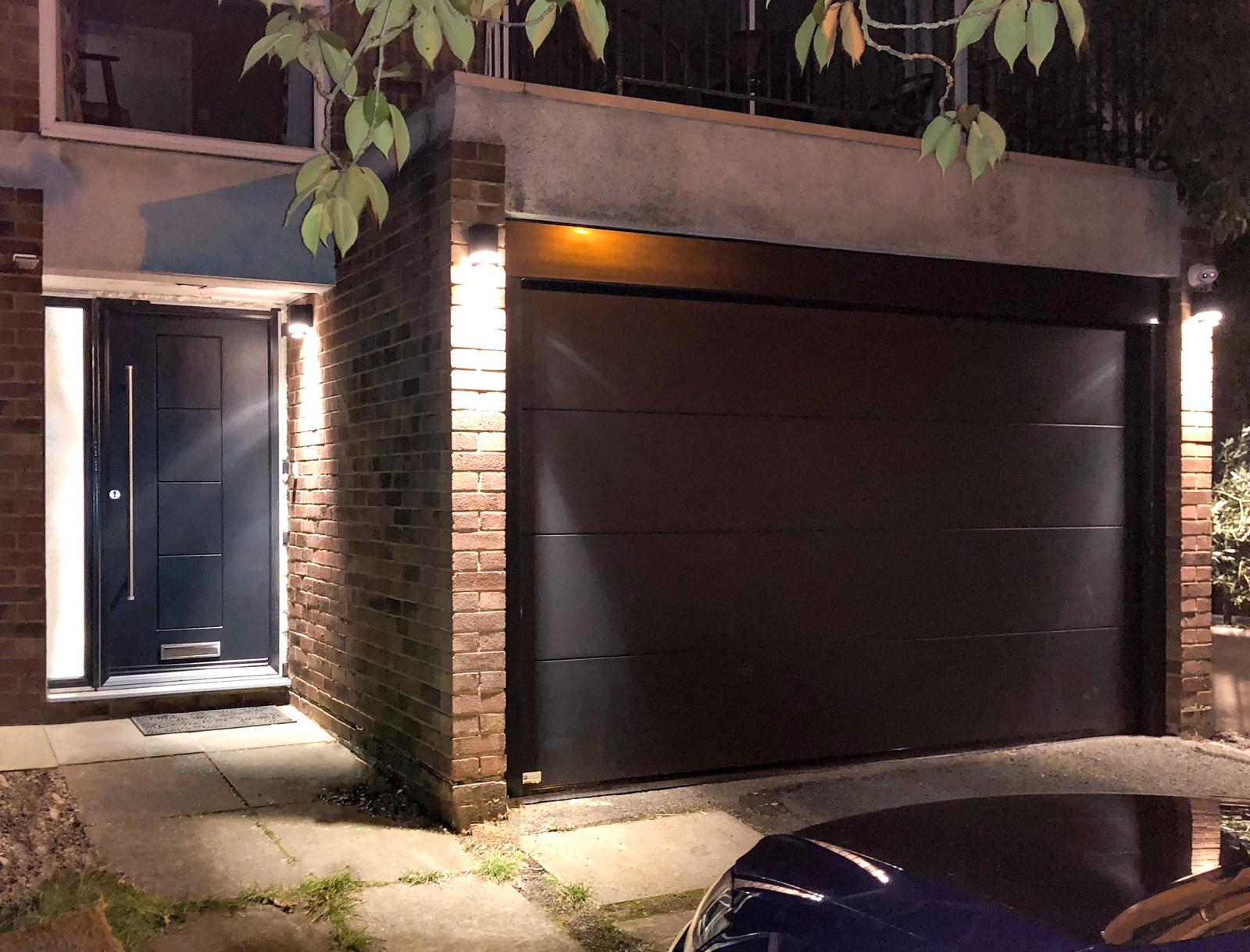 A SWS Compact Sectional & RockDoor Dakota Entrance Door