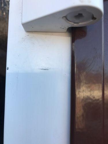 Carteck GSW 40 l Medium Vertical Rib with Windows in Rosewood Decograin