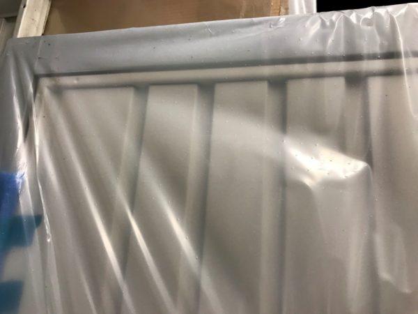 Garador Carlton Vertically Ribbed in White