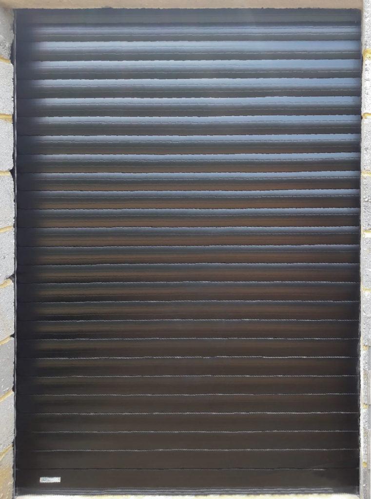 SWS SeceuroGlide Excel Roller Door in Black