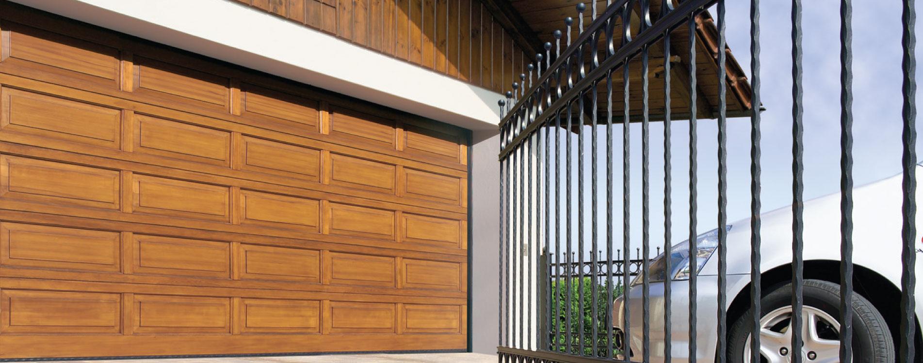 Hormann Sectional Timber Garage Doors