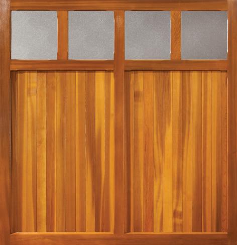 Wooden Garage Door Buckingham Coleshill