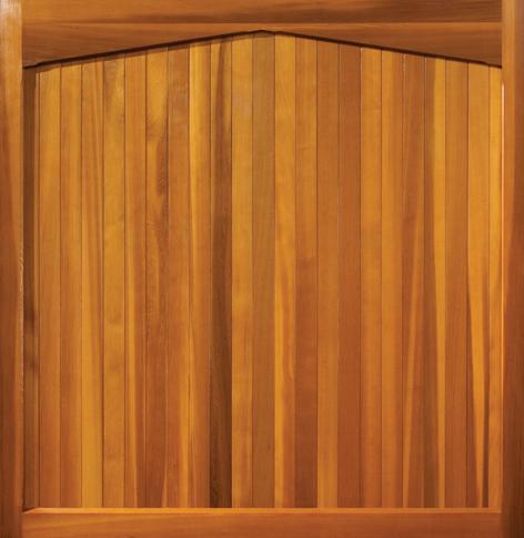 Wooden Garage Door Buckingham Gawcott