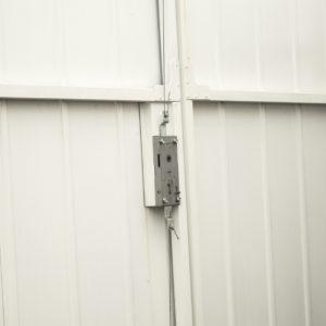 Fort-Side-Hinged-Garage-Door-In-White