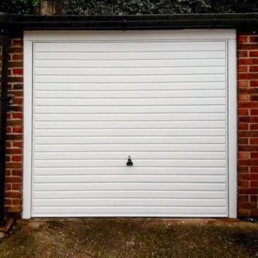 Garador Horizon / 75mm Steel Frame / Canopy Garage Door