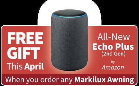 Free Gift with Markilux Awning - Amazon Echo Plus