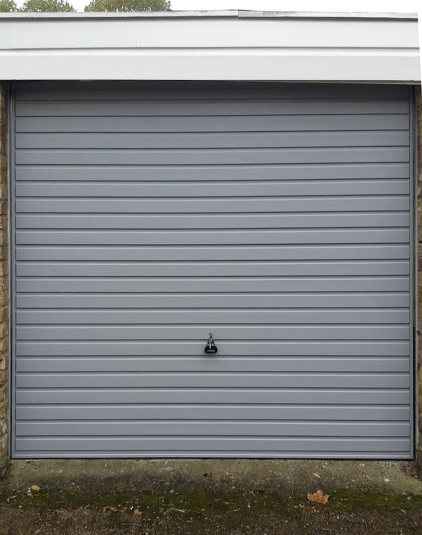 Garador Horizon Steel Up & Over Garage Door Finished in Window Grey