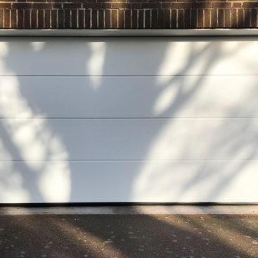 Hormann LPU42 L-Ribbed Sectional Garage Door