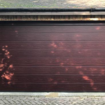 Hormann LPU42 M Ribbed Sectional Garage Door