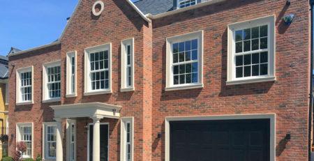 Black Cardale Brompton Retractable Garage Door