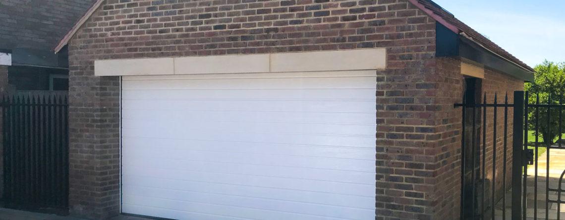 Access Garage Doors Hormann Lpu42 Sectional Garage Door In White