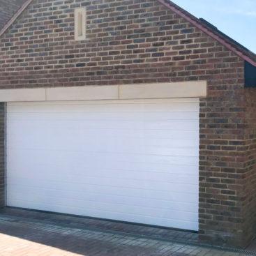 Hormann LPU42 Sectional Garage Door in