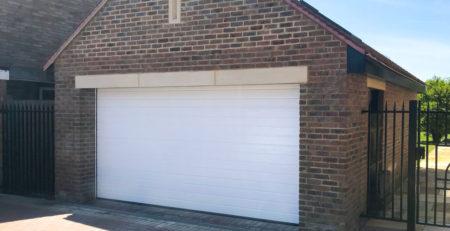 Hormann LPU42 Sectional Garage Door in White