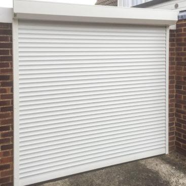 SWS SeceuroGlide Roller Garage Door in White