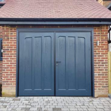 WessexLoxwood, Side Hinged, GRP Garage Door