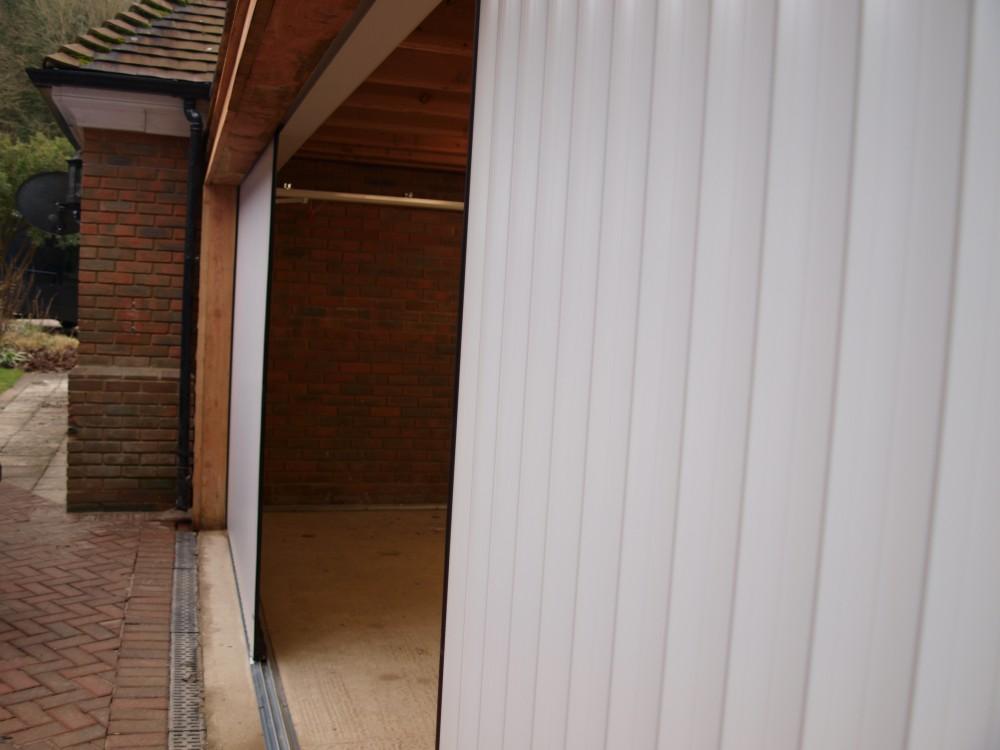 Access Garage Doors Side Sliding Garage Doors