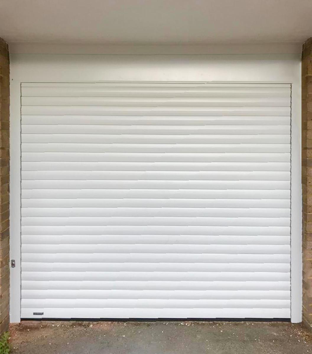 Seceuroglide Classic Roller Garage Door in White