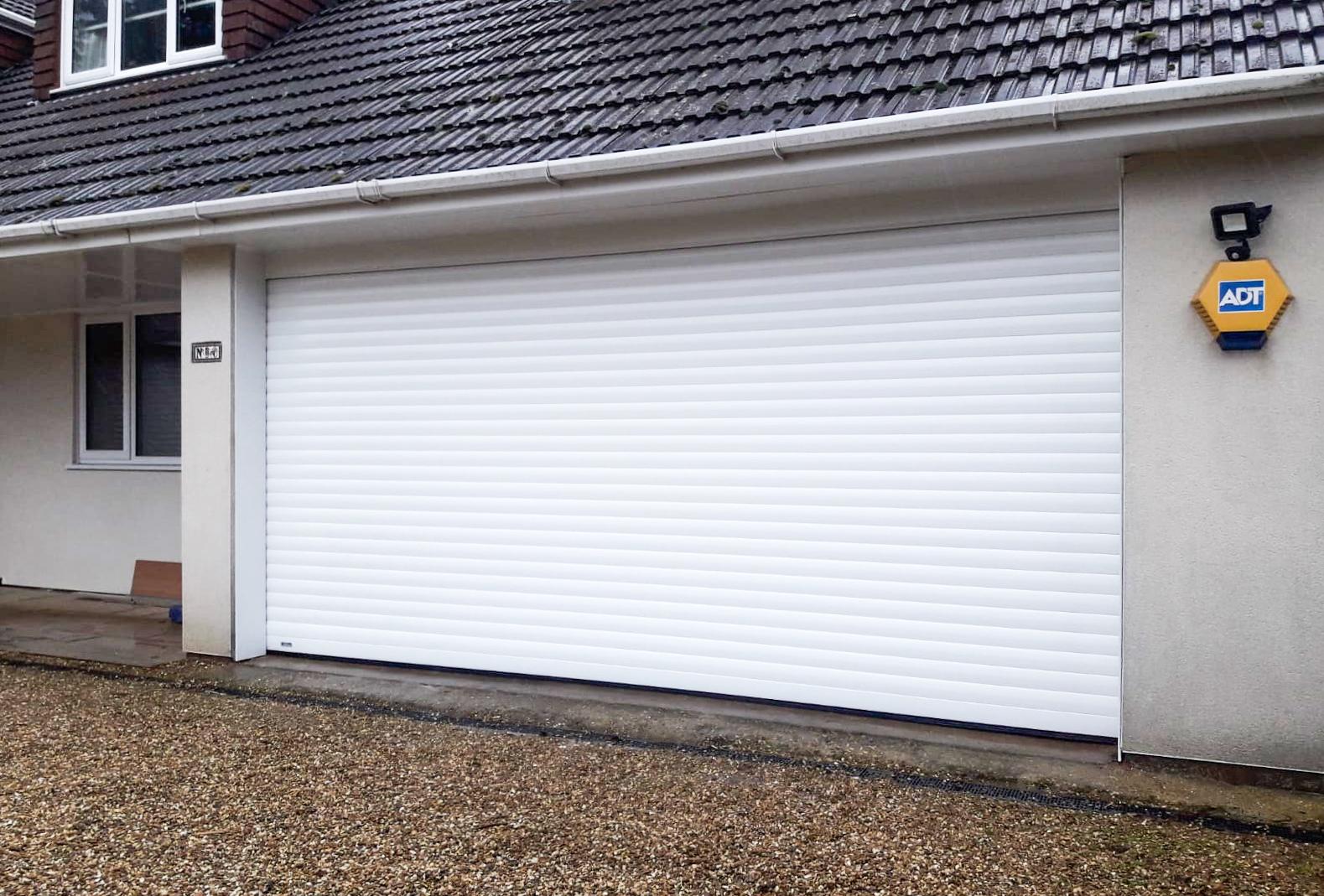 SeceuroGlide Insulated Double Roller Garage Door