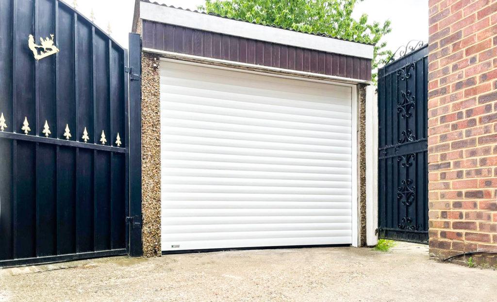 SWS SeceuroGlide Original Roller Garage Door in White