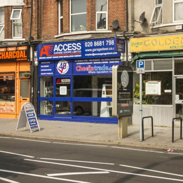 Access Garage Doors - Croydon showroom