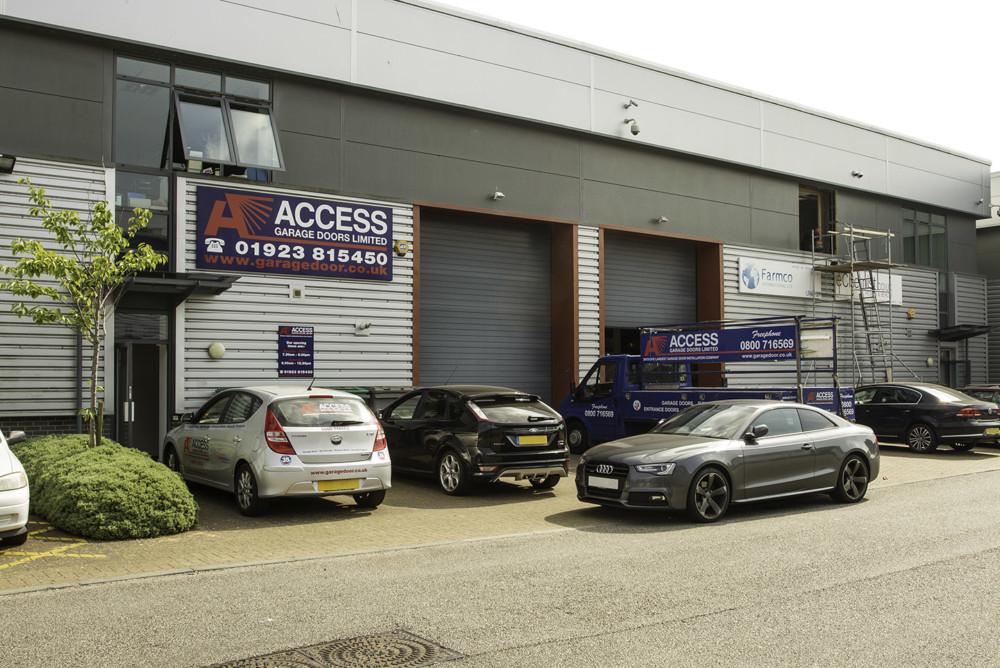 Access Garage Doors Watford showroom