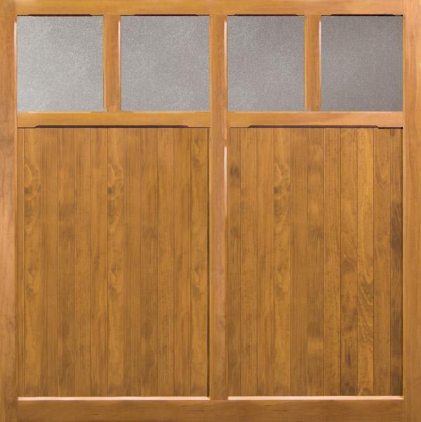 Thetford Elveden Up and Over Wooden Garage Door