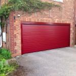 Alutech Sectional Garage Door S-Ribbed