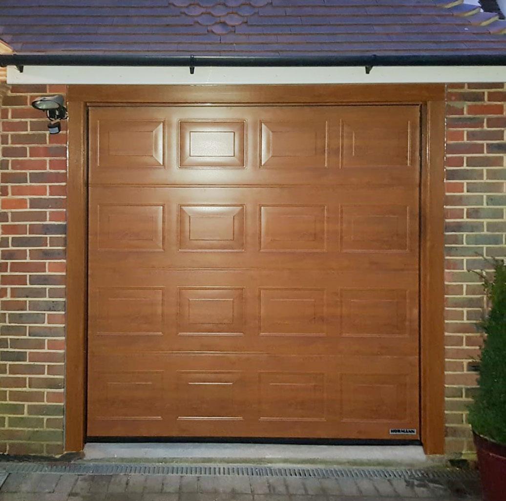 Hormann LPU42 Sectional, Insulated S-Panel Garage Door