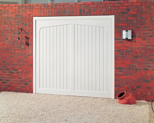 Cardale Tudor Up and Over Garage Door
