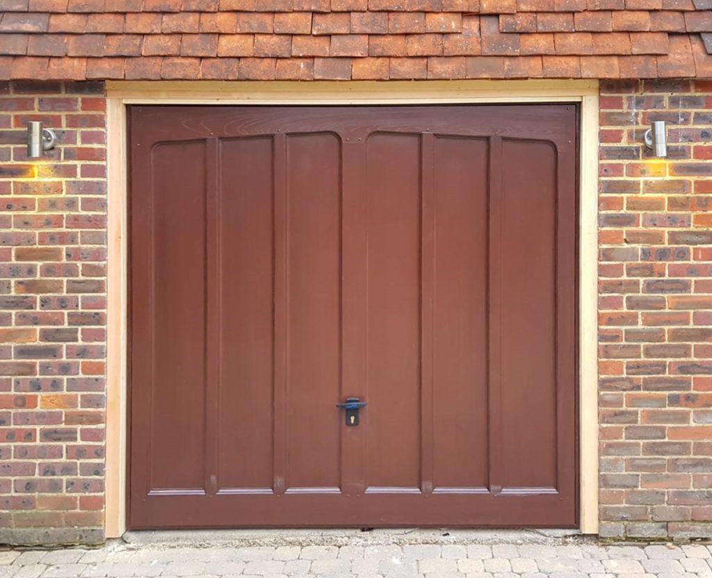 Cardale Hambledon II GRP Canopy Garage Door