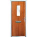 Golden Oak front door