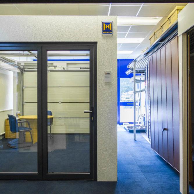 Croydon door display