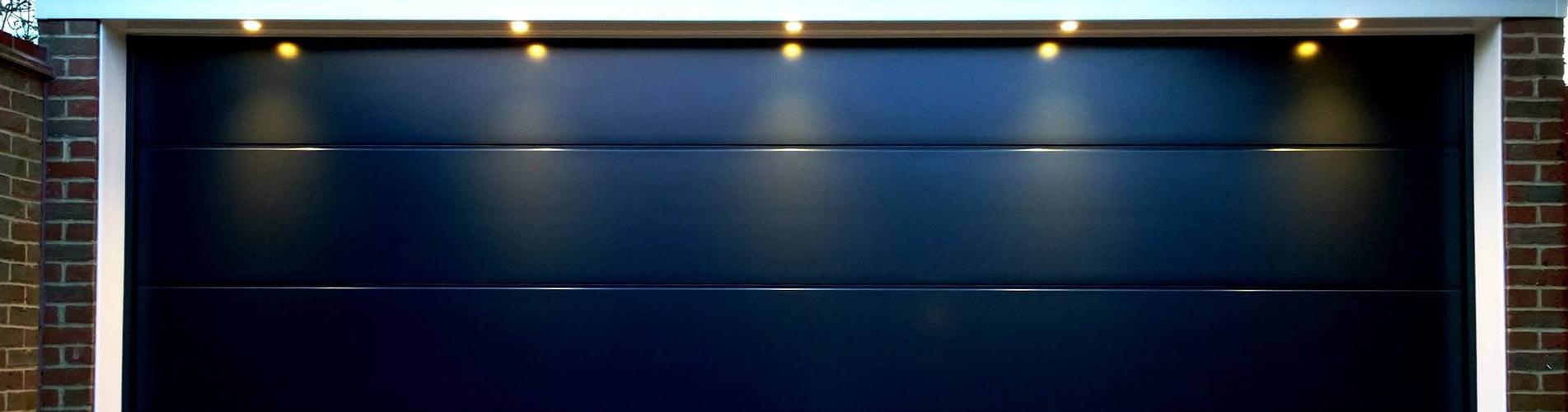 Double garage door conversion