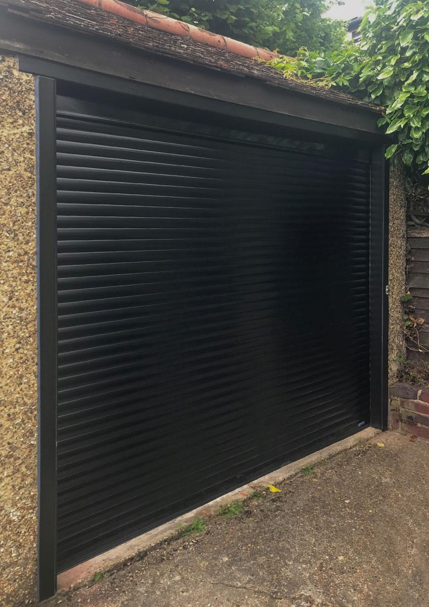 Access Garage Doors | Black Garador Beaumont Side-Hinged Garage Door