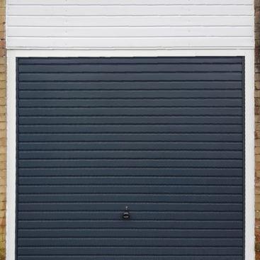Garador Horizon, Canopy Garage Door in Grey
