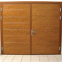Ryterna side hinged garage doors