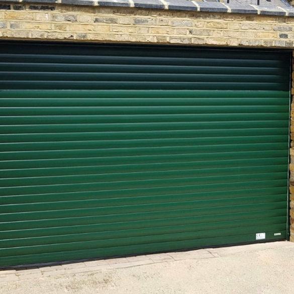 SWS SeceuroGlide roller garage door