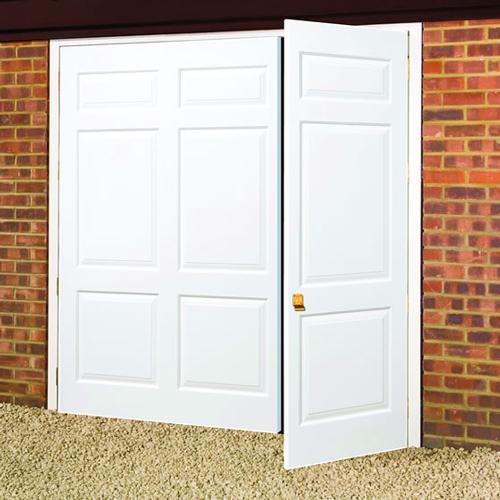 GRP side hinged door
