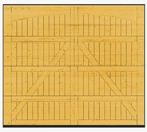 Hormann Sectional Wooden Garage Door 405