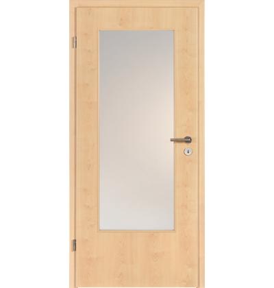 Hormann BaseLine Duradecor Canadian maple glazed internal door