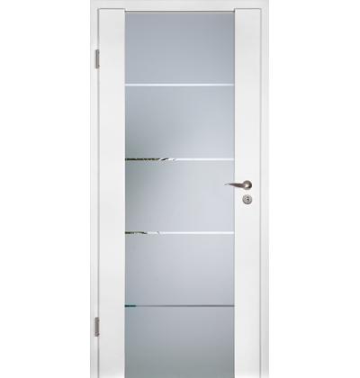 Hormann GlassLine white oak internal door