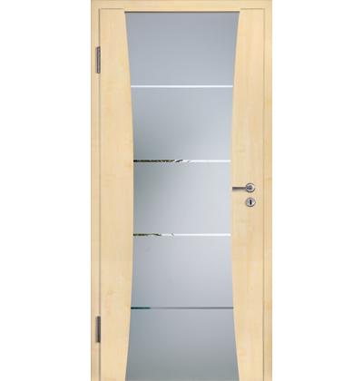 Hormann DesignLine rail 2 maple internal door