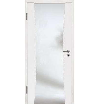 Hormann DesignLine rail 2 white ash internal door