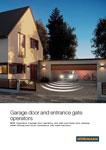 Hormann garage door openers