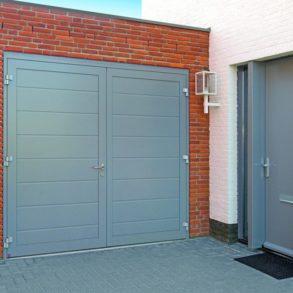 Hormann side hinged garage door